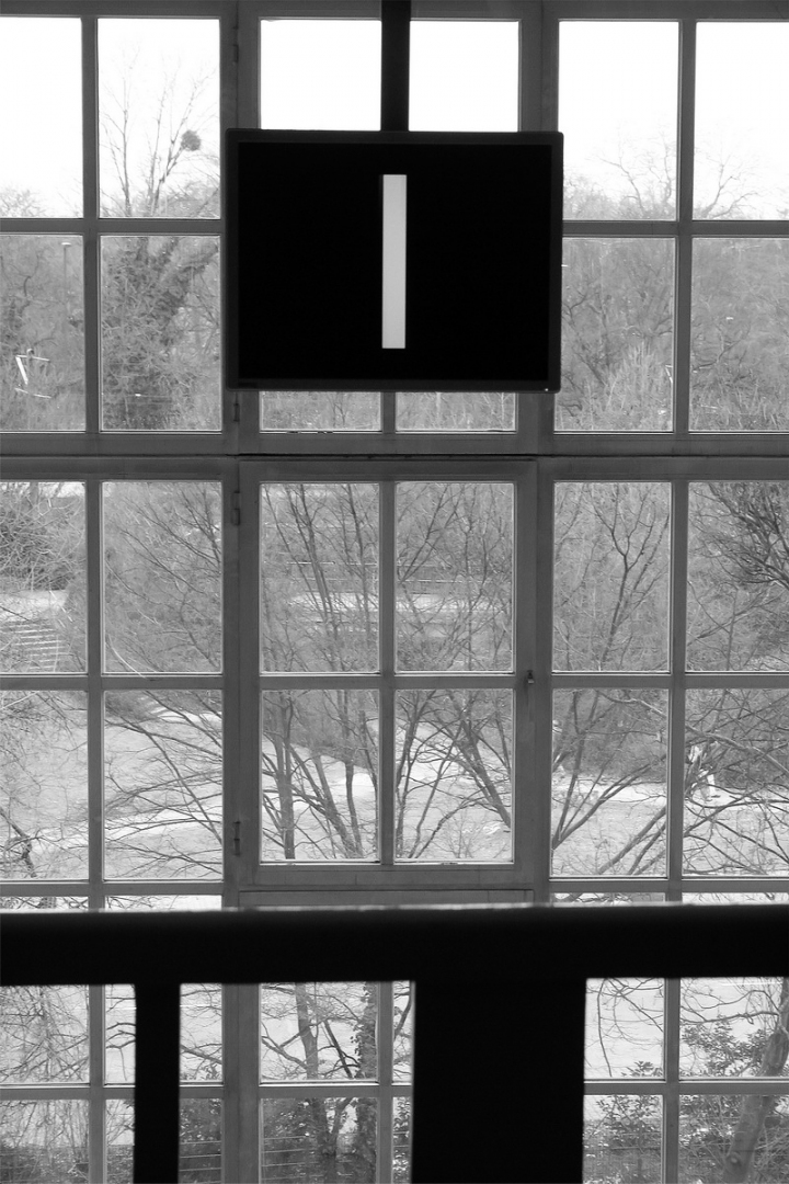 ONE POEM BETWEEN THE WINDOW AND BLACK WALL